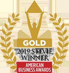 Gold Stevie Award 2019