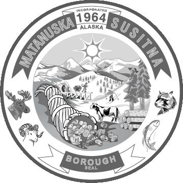 Matanuska-Susitna Borough, Alaska Seal