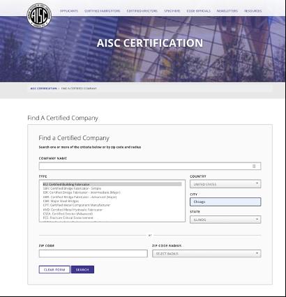 AISC-certification